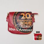 L'Arc~en~Ciel(ラルク) 20th L'Anniversary TOUR 20th PASS mini BAG