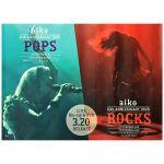 aiko(アイコ) ポスター rocks pops 映像作品 2015