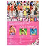 E-girls(イー・ガールズ) ポスター E.G. TIME 告知 2015