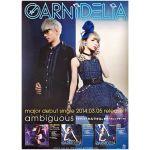 GARNiDELiA(ガルニデリア) ポスター ambiguous 2014 シングル