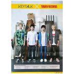 KEYTALK(キートーク) ポスター タワレコ 2014