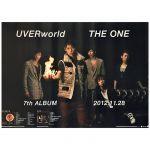 UVERworld(ウーバーワールド) ポスター THE ONE 告知 2010