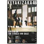 欅坂46(けやきざか46) ポスター 風に吹かれても Type-C