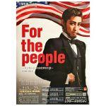 宝塚(宝塚歌劇団) ポスター 花組公演 『For the people ?リンカーン 自由を求めた男?』 2016