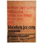 BLANKEY JET CITY(ブランキー・ジェット・シティ) ポスター BARRACUDA 映像作品 1998