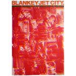 BLANKEY JET CITY(ブランキー・ジェット・シティ) ポスター BABYFACE PRESIDENT 映像作品 1998