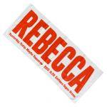 レベッカ(REBECCA) -Yesterday, Today, Maybe Tomorrow- フェイスタオル 2015 さいたま公演限定
