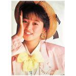 渡辺美奈代(わたなべみなよ) ポスター ホッピング 1987
