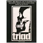 THEE MICHELLE GUN ELEPHANT(ミッシェル) ポスター GRATEFUL TRIAD YEARS 2002