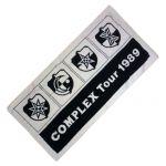 COMPLEX(コンプレックス) COMPLEX TOUR'89 バスタオル