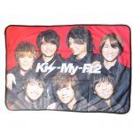 Kis-My-Ft2(キスマイ) その他 当たりくじ ラストワン賞 ブランケット セブンイレブン 2013