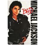 マイケル・ジャクソン(キング・オブ・ポップ) ポスター BAD バッド アートプリントポスター