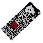 RIZE(ライズ) その他 フェイスタオル ブラック tour 2010