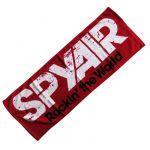 spyair(スパイエアー) TOUR 2011「Rockin' the World」 フェイスタオル レッド