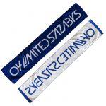04 Limited Sazabys(フォーリミ) AIM Tour 2016 ロゴマフラータオル ブルー