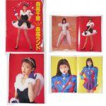 森高千里(もりたかちさと) 森高ランド(1990) パンフレット 写真 大型