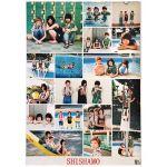 SHISHAMO(シシャモ) ポスター 夏の恋人 タワレコ購入特典 2016