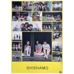 SHISHAMO(シシャモ) ポスター BYE BYE 購入特典 2017