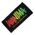 WANIMA(ワニマ) JUICE UP!! TOUR ビーチタオル バスタオル ブラック