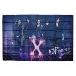 X JAPAN(エックス) WORLD TOUR 2015-2016 IN JAPAN ビッグフラッグ VIPパッケージ プラチナチケット購入特典 12/4 横浜公演