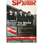 spyair(スパイエアー) ポスター Rockin' the World 2011