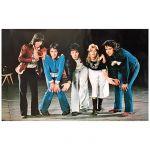 ビートルズ(THE BEATLES) ポスター Letting Go  ワインカラーの少女 Paul McCartney & Wings ポール・マッカートニー&ウイングス 1975