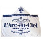 L'Arc~en~Ciel(ラルク) 20th L'Anniversary WORLD TOUR 2012 THE FINAL フードタオル【ブルー】