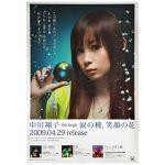 中川翔子(しょこたん) ポスター 涙の種、笑顔の花 告知 2009