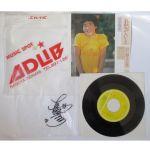 田原俊彦(トシちゃん) レコード 哀愁でいと レコード EP 袋にサイン入り 1980