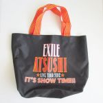 ATSUSHI(EXILE) ATSUSHI LIVE TOUR 2016 IT'S SHOW TIME!! エコバッグ(大)
