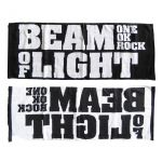 "ONE OK ROCK(ワンオク) LIVE TOUR 2008""BEAM OF LIGHT"" フェイスタオル(黒)"