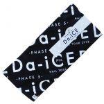 Da-iCE(ダイス) HALL TOUR 2016 -PHASE 5- フェイスタオル ブラック