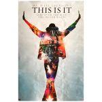 マイケル・ジャクソン(キング・オブ・ポップ) ポスター ポスター(THIS IS IT)