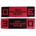 9mm Parabellum Bullet(キューミリ) 10th Anniversary Live「O」 「E」 タオル act O+E レッド×ブラック