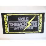 EXILE(エグザイル) LIVE TOUR 2009 MONSTER イナズマバスタオル(黒)