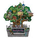 オルゴール付きツリーハウス