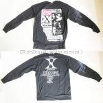 X JAPAN(エックス) 「青い夜」「白い夜」 ロングTシャツ(1994)