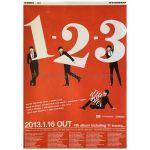 The Bawdies(ザ・ボゥディーズ) ポスター 1-2-3 2013