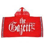 the GazettE(ガゼット) LIVE IN SUMMER 17「BURST INTO A BLAZE 3」 フード付きタオル