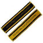 abingdon boys school(西川貴教) その他 マフラータオル イエロー ブラック JAPAN TOUR 2010