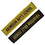 abingdon boys school(西川貴教) その他 マフラータオル イエロー ブラック