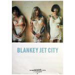 BLANKEY JET CITY(ブランキー・ジェット・シティ) ポスター 幸せの鐘が鳴り響き僕はただ悲しいふりをする 1994