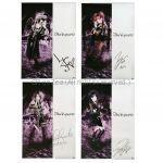 MIYAVI(雅) ポスター Due'le quartz デュールクオーツ 直筆サイン入りポスター 4枚セット
