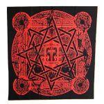 BABYMETAL(ベビーメタル) LIVE AT BUDOKAN ?RED NIGHT & BLACK NIGHT APOCALYPSE? 魔法陣フラッグ