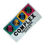 COMPLEX(コンプレックス) 東日本大震災復興支援チャリティライブ 日本一心 ブックタオル バスタオル エンブレム カラー