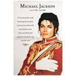 マイケル・ジャクソン(キング・オブ・ポップ) ポスター レッド