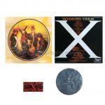 X JAPAN(エックス) その他 vanishing vision インディーズ LP レコード 5000枚限定 1988 ソノシート付属
