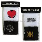 COMPLEX(コンプレックス) 東日本大震災復興支援チャリティライブ 日本一心 リストバンド 二個セット 吉川晃司 布袋寅泰