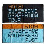 布袋寅泰(BOOWY) SUPERSONIC GENERATION TOUR バスタオル