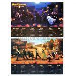 Sound Horizon(サンホラ) ポスター ハロウィンと夜の物語 2013-2014 カレンダー 特典 両面